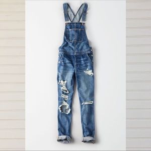 [american eagle] tomgirl overall